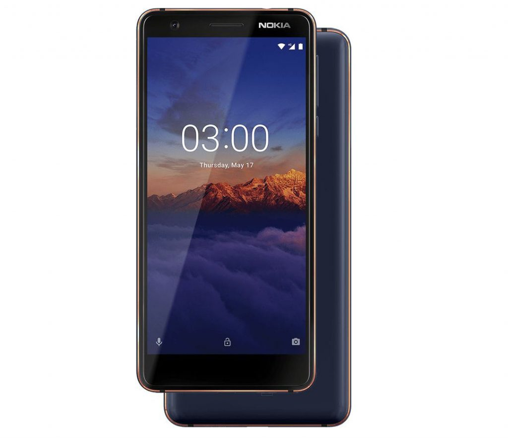 nokia 3.1 specifications