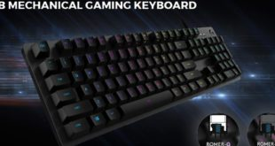 Logitech G512 Mechanical Keyboard With GX Blue Switches