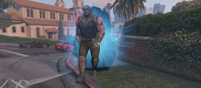 Thanos Mod GTA V