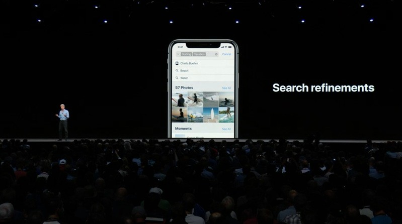 ios 12 search