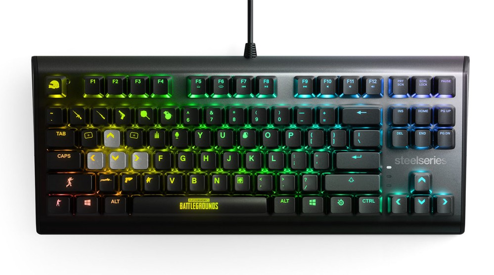 Apex M750 TKL PUBG Edition keyboard