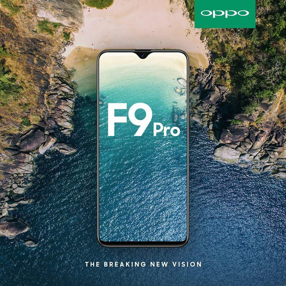 Oppo F9 Pro launch