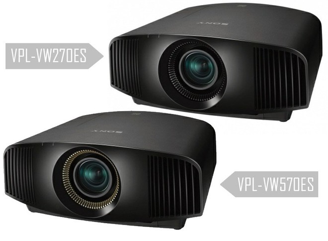 sony hdr projectors