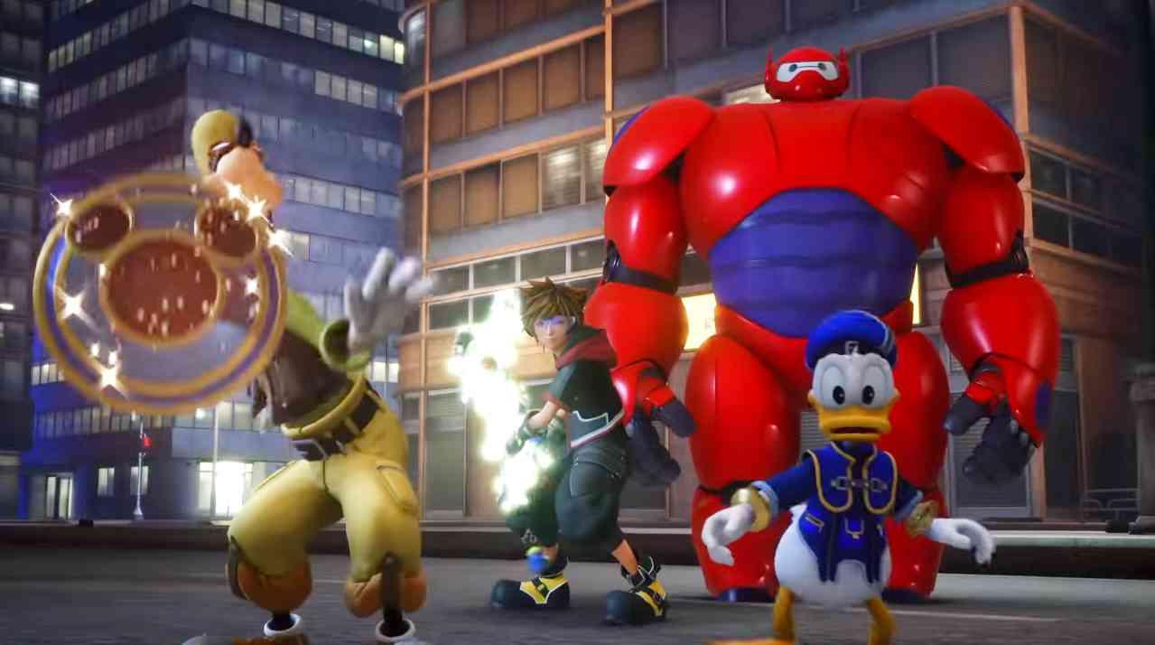 Kingdom Hearts III Big Hero 6 World