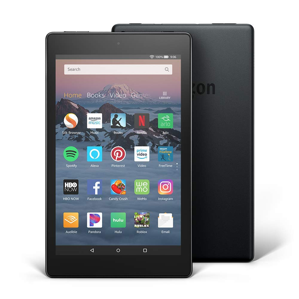 new Fire HD 8 with hands-free Alexa