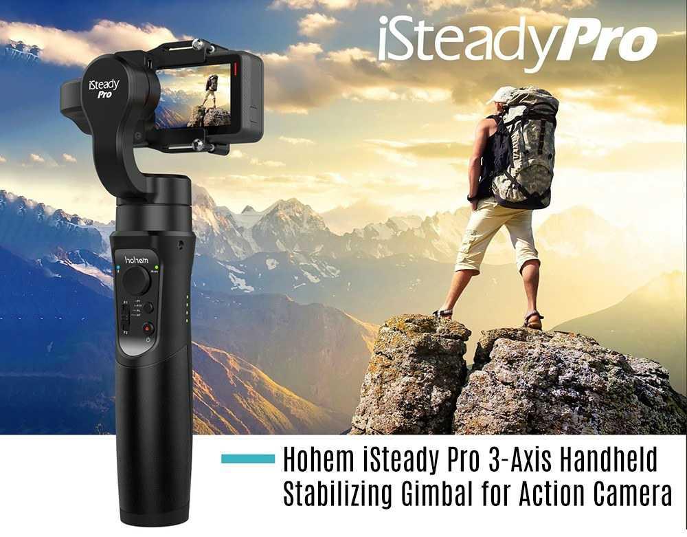 Hohem iSteady Pro 3-Axis Action Camera Gimbal