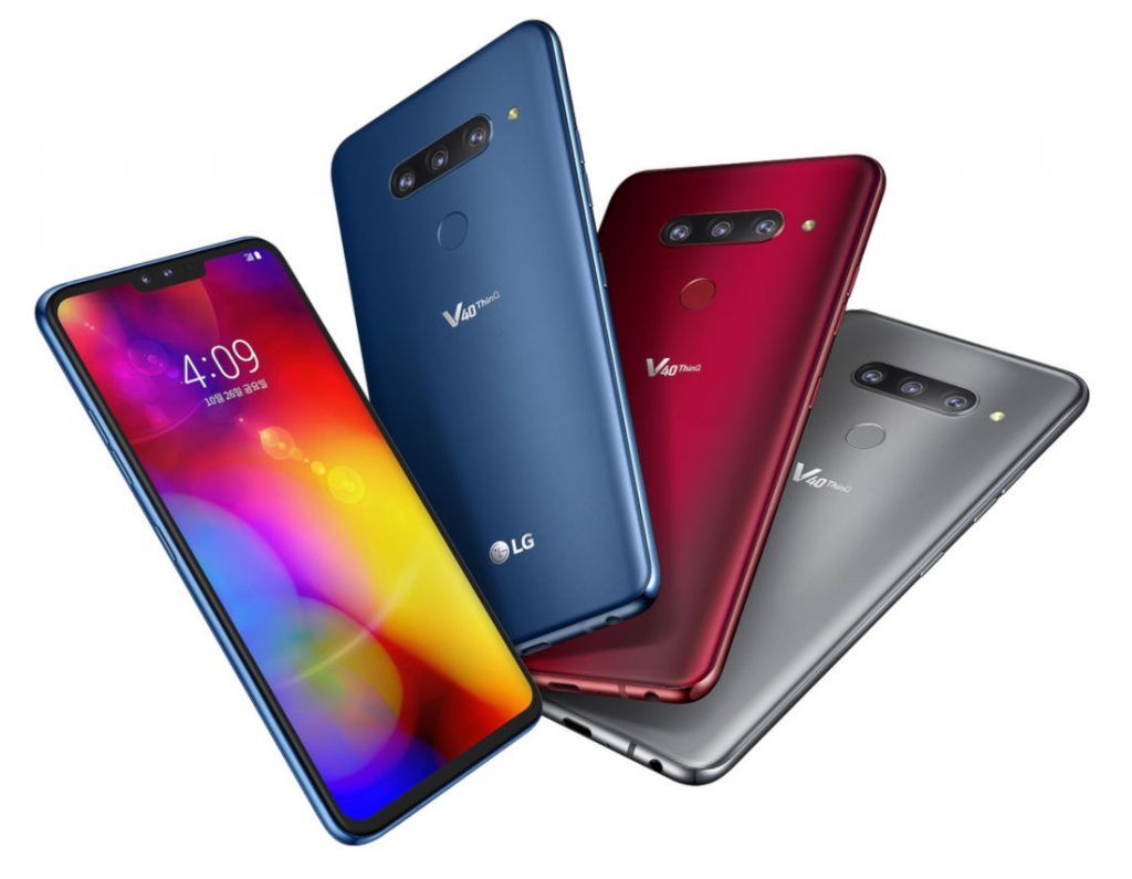 LG V40 ThinQ Price in usa