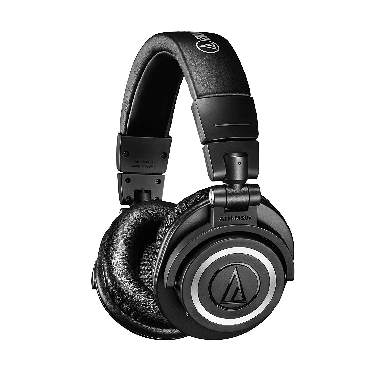 Audio Technica ATH-M50xBT Bluetooth Headphones With 40 ...