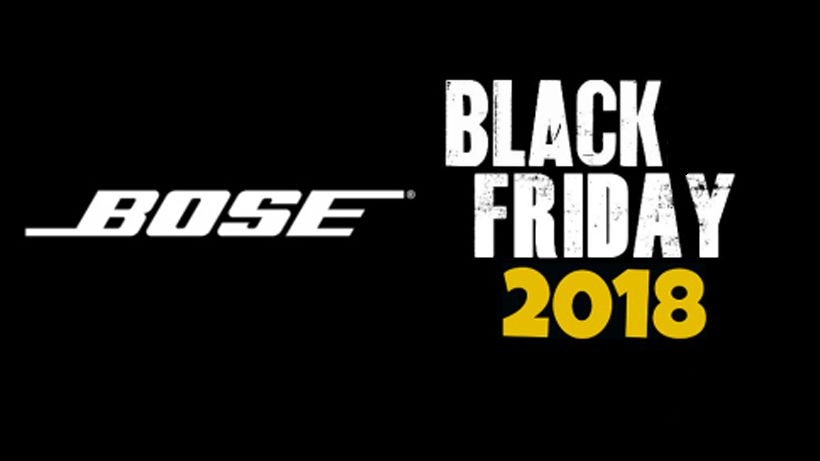 Bose Black Friday Sale 2018