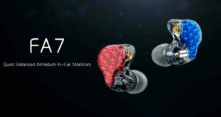 FiiO FA7 Quad Driver Balanced Armature In-Ear Monitors