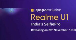 Realme U1 release date