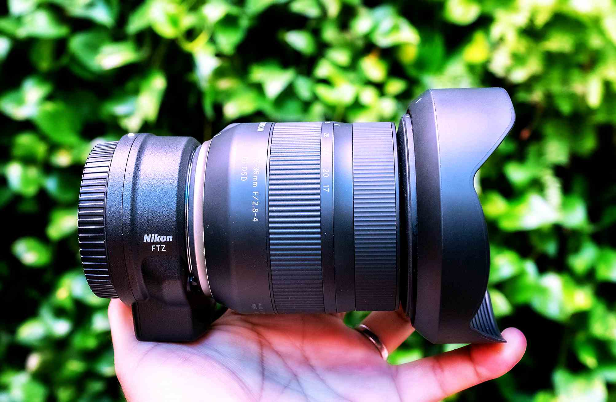 Tamron Lenses Now Compatible With Nikon Z7 and FTZ