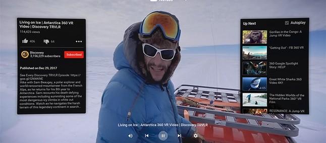 YouTube VR on Oculus Go