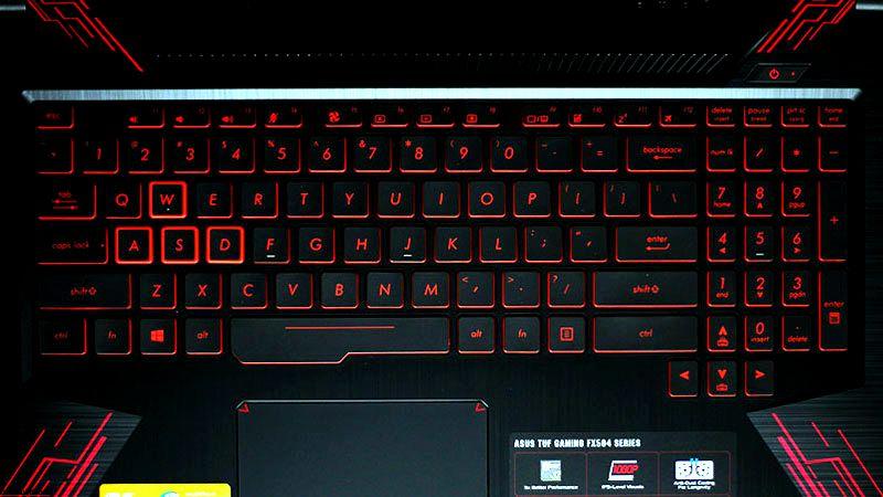 Asus TUF FX504G Keyboard