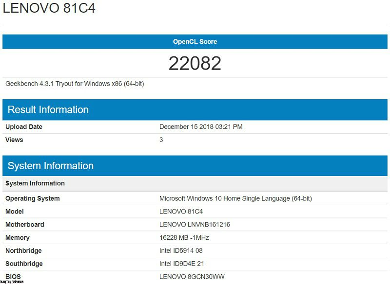 Lenovo Yoga C930 Performance