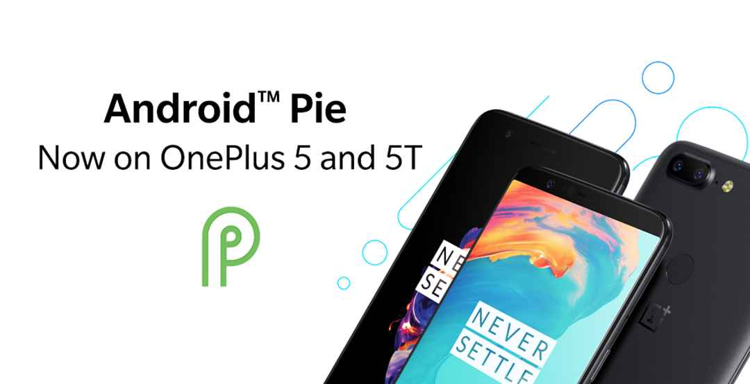 OnePlus 5 and 5T Android 9