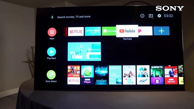 Oreo On Sony Android TV