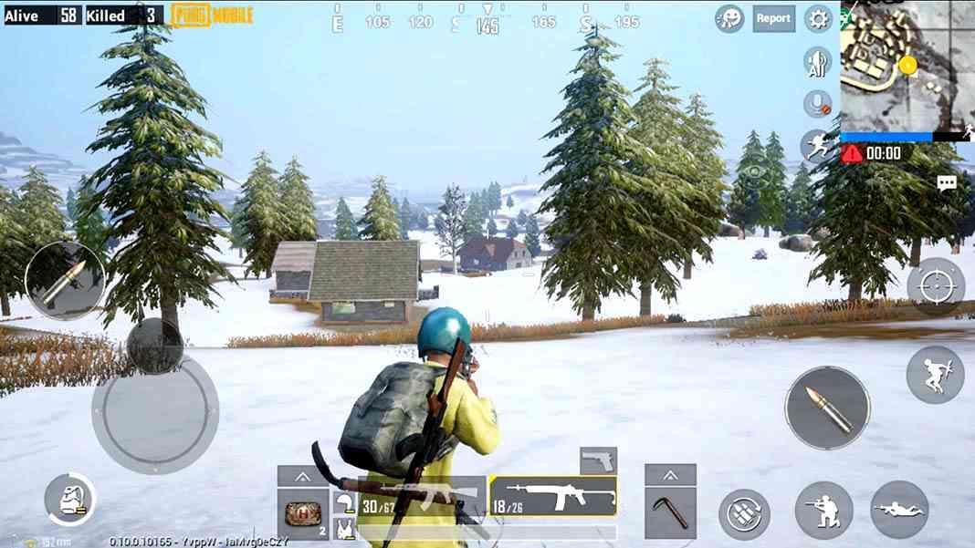 PUBG Mobile Vikendi Snow Map