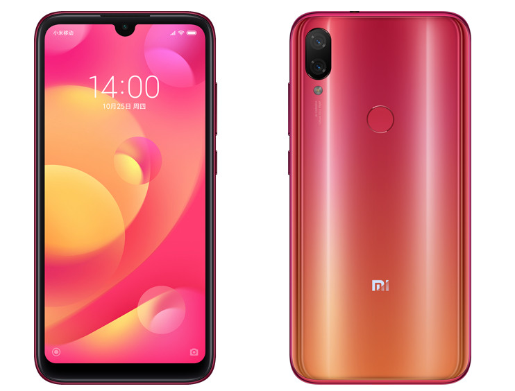 Xiaomi Mi Play specifications