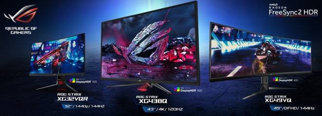 Asus ROG Strix Gaming Monitors