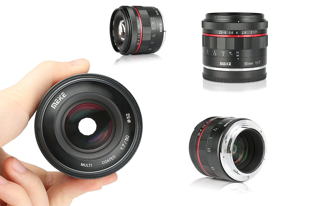 Meike 50mm F1.7 Lens for Nikon Z and Canon RF