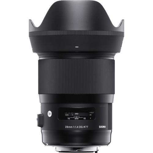 Sigma 28mm f1.4 DG HSM Art Lens