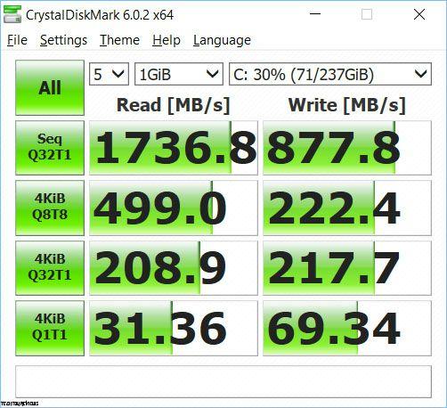 Asus ZenBook UX333FA storage