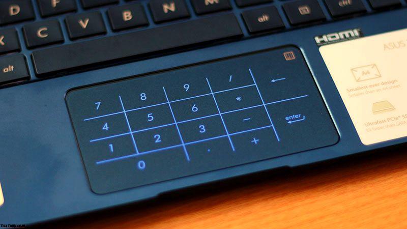 Asus ZenBook UX333FA trackpad