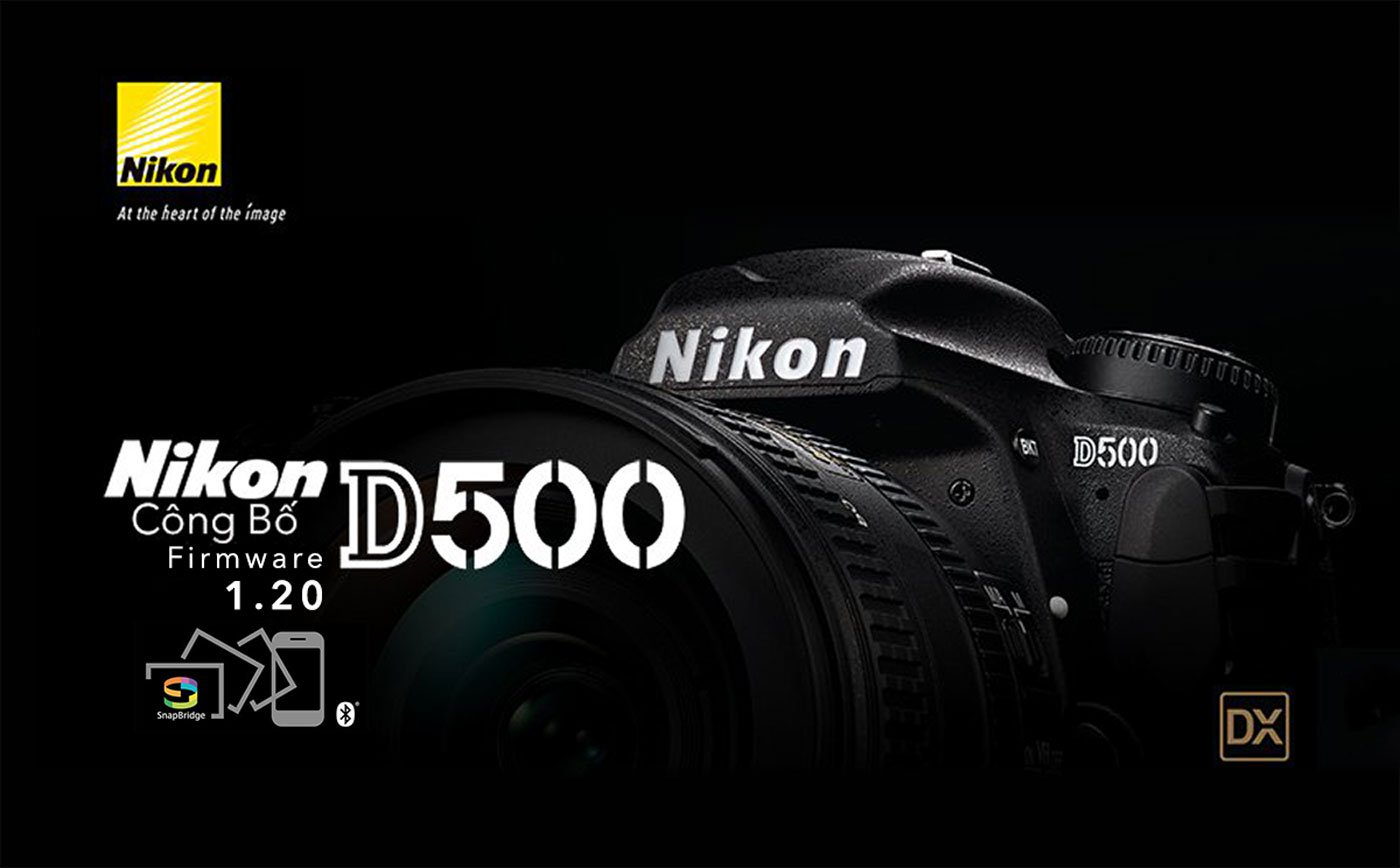 Nikon D500 Firmware v 1 20 Update Brings Wi-Fi, SnapBridge