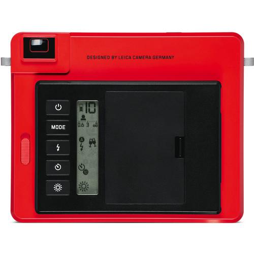 Leica Sofort Instant Film Camera Red