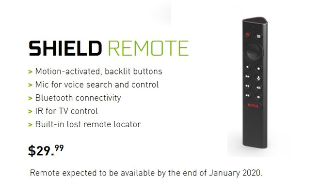 NVIDIA SHIELD Remote