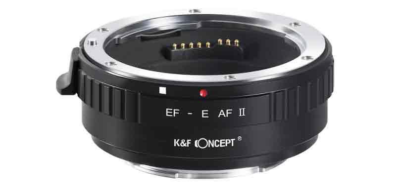 K&F Concept EF-E AF II Adapter