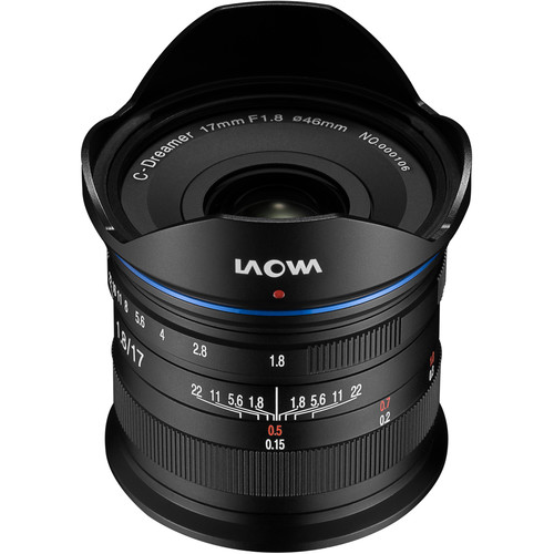 Laowa 17mm f/1.8 Micro Four Thirds lenses