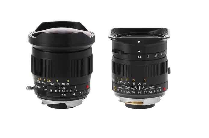 Fisheye lens for leica
