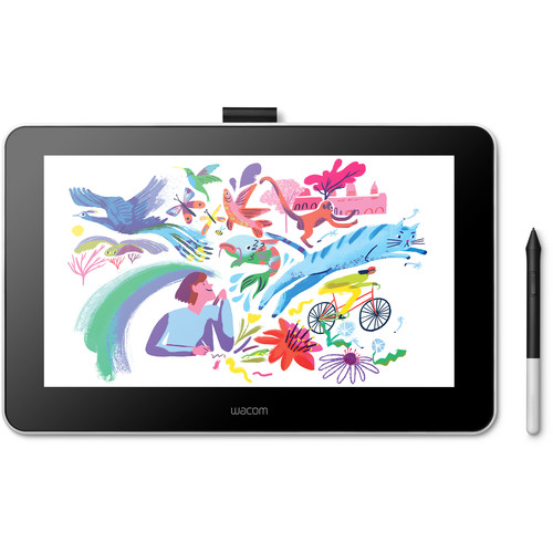 Wacom One Creative Pen Display Drawing Tablet with screen
