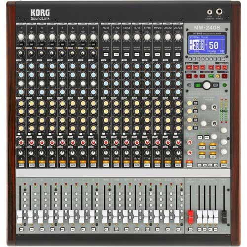KORG SoundLink MW1608 and MW2408