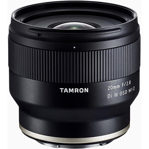 Tamron 20mm f/2.8 Di III OSD M 1:2 Lens for Sony E Mount