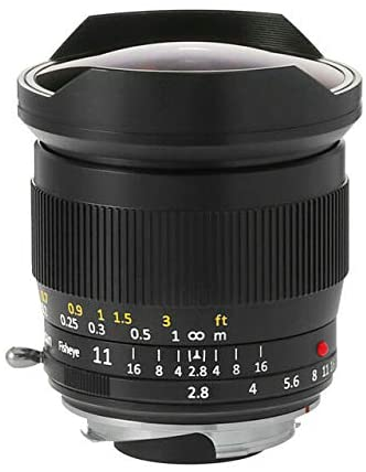 TTArtisans 11mm F2.8 Fisheye Lens for Canon EOS R