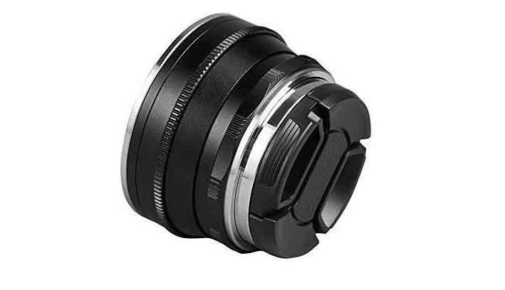 Pergear 25mm F1.8 prime lens