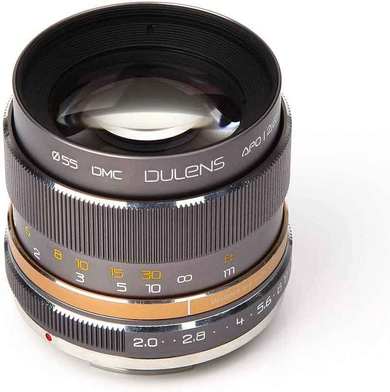 DULENS APO 85mm F2.0 Apochromatic Lens for Nikon F