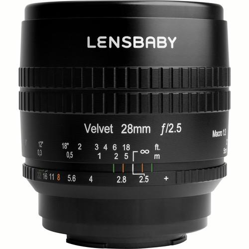 Lensbaby Velvet 28 F2.5 Canon RF , Nikon Z lenses