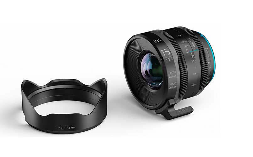 Cine 15mm T2.6 Lens for Canon EF, Sony E, MFT, and PL mount