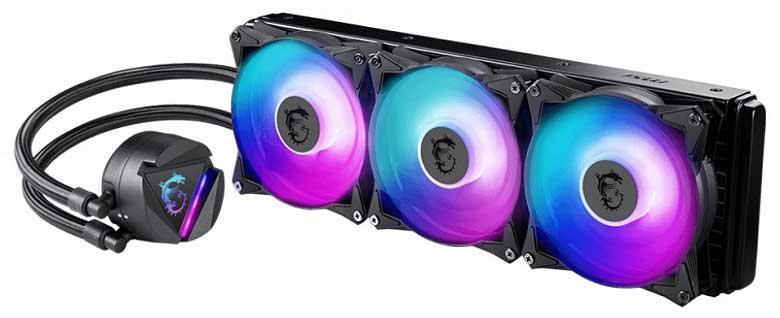 MSI liquid cooler