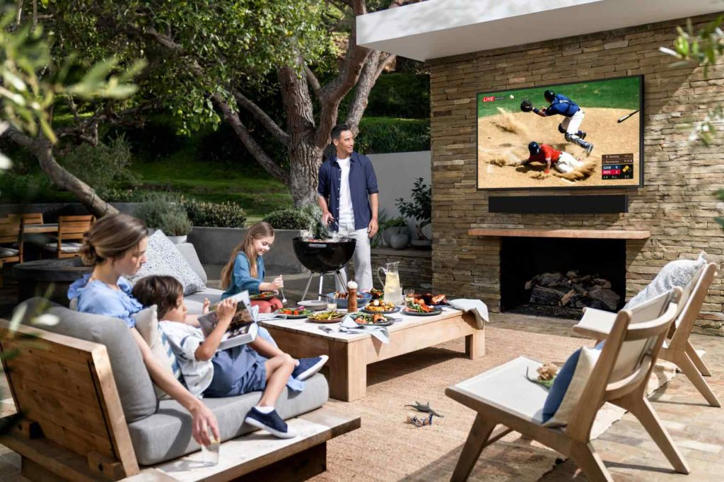 Samsung The Terrace Best Outdoor TV