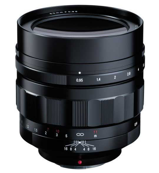 Voigtlander Nokton 60mm F0.95 Lens for Micro Four Thirds