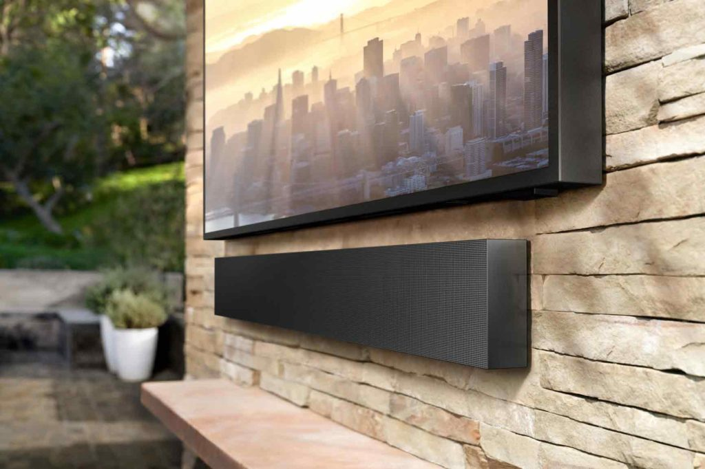 weatherproof soundbar