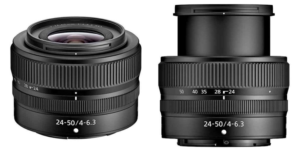 NIKKOR Z 24-50mm F4-6.3 zoom lens