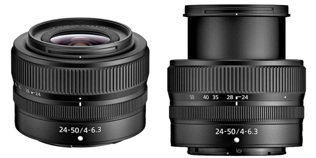 NIKKOR Z 24-50mm F4-6.3 zoom lens