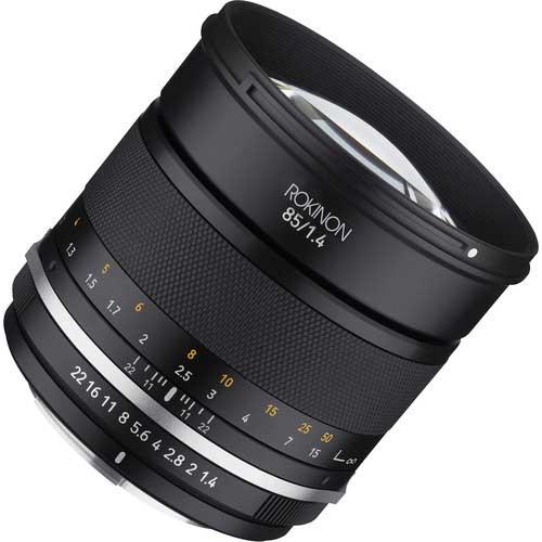 Rokinon telephoto lens