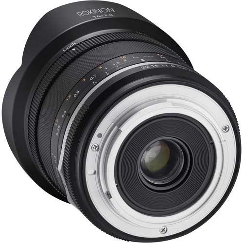Rokinon wide angle Lens